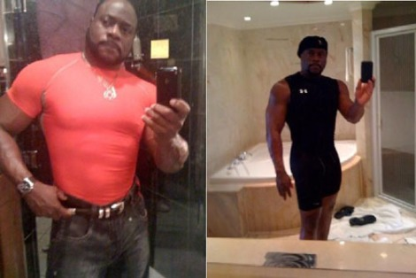 Eddie Long and His body suits