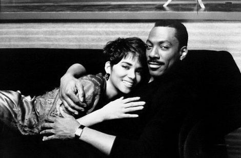 Marcus Graham(Eddie Murphy) and Angela Lewis( Halle Berry)