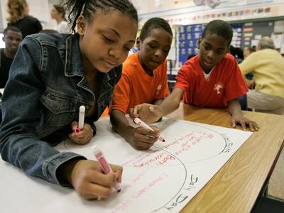 black_elementary_school_students
