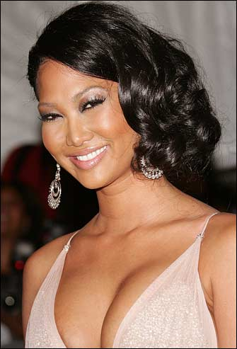 kimora lee simmons Computer Class: Attractive Female Adult Student Royalty Free Stock Photo