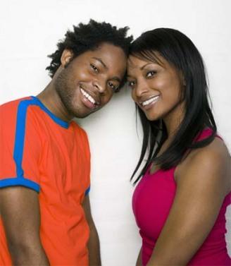 black couple friend zone