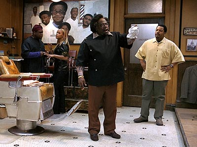 barbershop movie- Cedric the entertainer