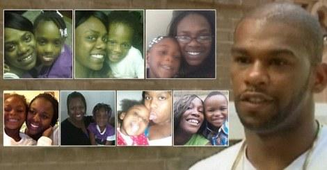 Desmond Hatchett and his baby mamas