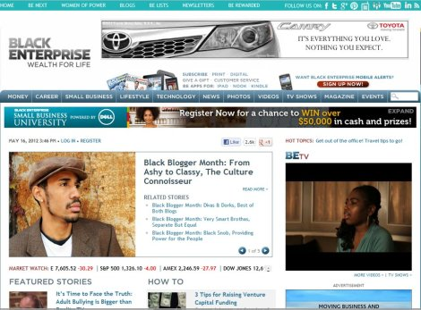 Darryl Frierson- Black Enterprise Screen Shot