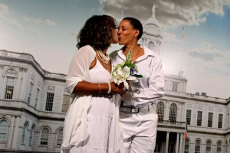 woman gay couple married