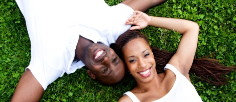 black couple finding love