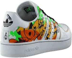 graffiti adidas hip hop