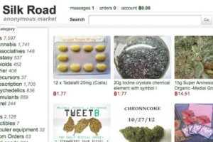 silk road drugs computer