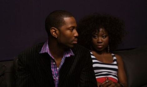 black-couple with tension