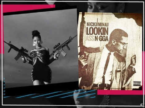 nicki minaj and malcolm X